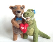 You Choose The Animals Cake Topper - Custom Made Cake Toppers