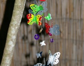 Whimsical Wind Chime - Upcycled