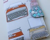 Standable Kindle Fire cover Kindle Paper white Kindle Touch Google Nexus 7 Cover Retro Typewriter and Typewriter keys Custom order