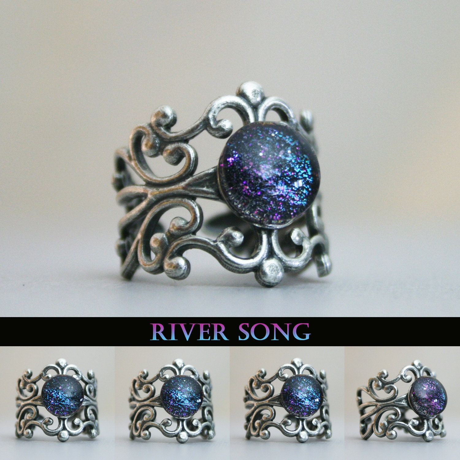 zoom - Dr Who Wedding Ring