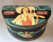 Vintage Coca Cola Tin