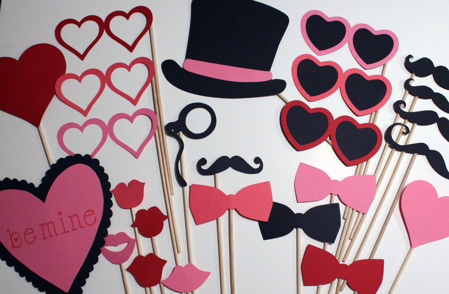 Best Valentines Day Photo Booth Props Awesome Props For