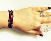 SALE Wrap Bracelet / Bohemian Jewelry / Unique Handmade Bracelet