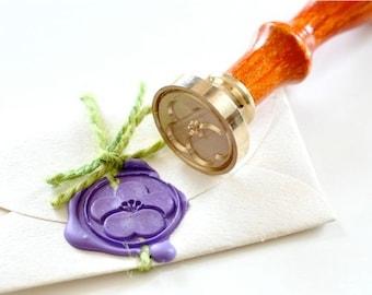 B20 Wax Seal Stamp Sakura Flower Cherry Blossom