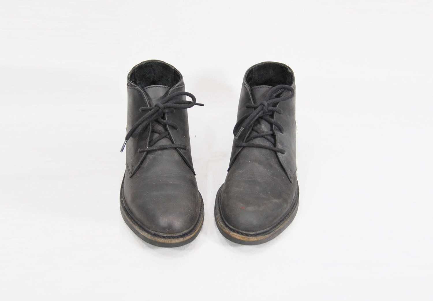size 9 flat black ankle boots s timberland