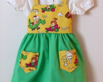Girls  clothing,DressToddler's 3T (handmade)  girls clothing,Jumper 2 pieces.Ready to ship
