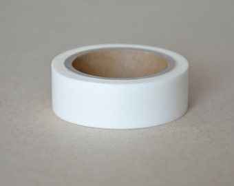 CLEARANCE, Washi Tape, Ivory, Off White