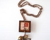 Eiffel Tower Vintage Necklace - - ArtIncendi