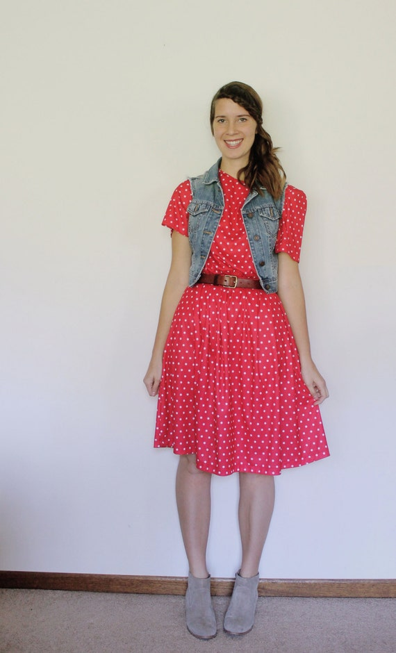 Vintage 1980's The Pie's Cooling Dress