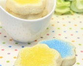 Spring Celebration, Assorted Shortbread Cookies Sampler - Customized 1 dozen of 2 flavors