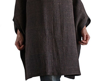Hand Woven Cotton  Squid Shaped Tunic (BFS-005-03)