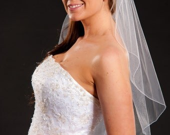 1 Layer Elbow Length Veil