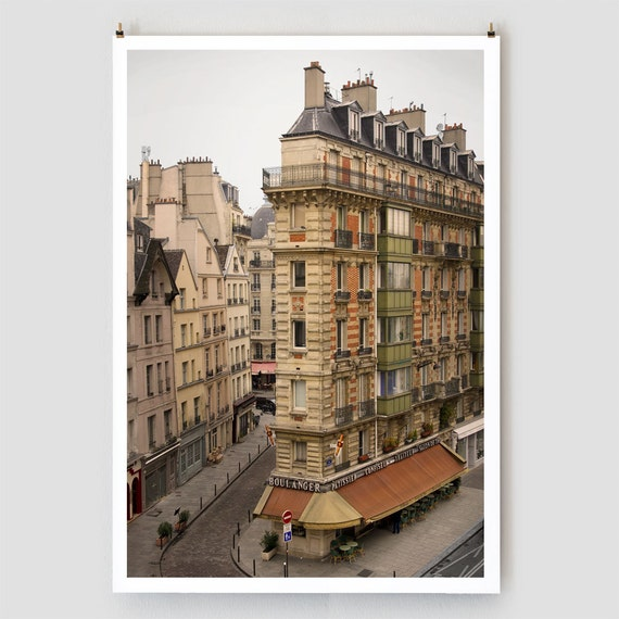 "Paris Photography, ""Boulanger"" Paris Print, Large Art Print Fine Art Photography"
