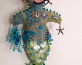Beaded Mermaid Art Doll Kit