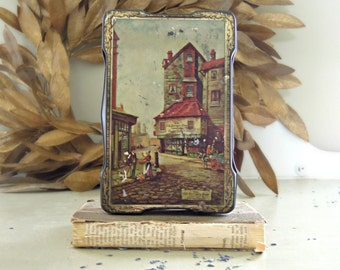 Vintage Harry Vincent LTD  Candy / Toffee Tin / Made in England