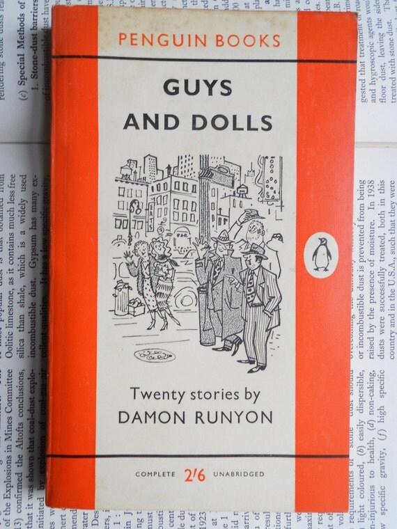 Guys and Dolls - Damon Runyon (1960) , Penguin Book No.1179
