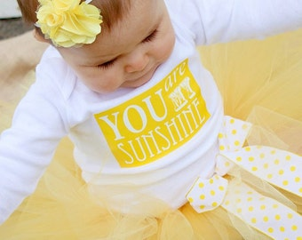 You Are My Sunshine Onesie or Shirt, Birthdays