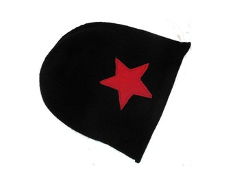 Roller Derby Jammer Slouch Knit Hat with Stars on Sides!