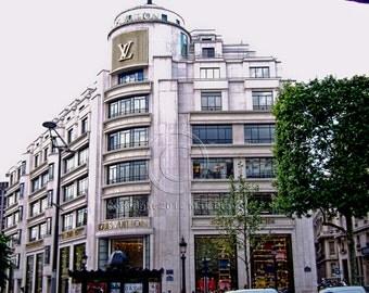 Louis Vuitton, Louis Vuitton Art, Louis Vuitton Photography, Paris photos, Paris Decor 8 x10, High Fashion Art