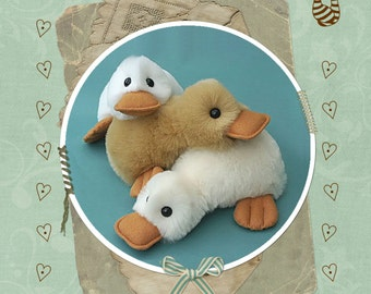 Fluffy Duck Pattern