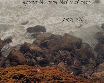 Jrr Tolkien Quotes About Life Prepossessing Lotr Triloty  Etsy