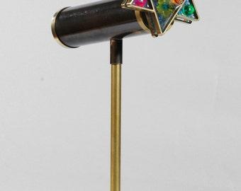 Star of David Kaleidoscope, Judaica kaleidoscope, Personalized gift, Jewish gift