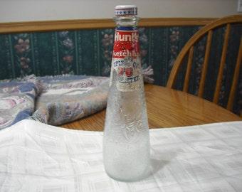 "Vintage Hunts Ketchup Bottle   ""Spirit Of 76"" Limited Edition, Kitchenware, Collectible Bottle"