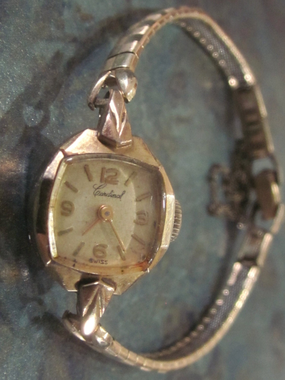 vintage cardinal wrist 1940 era
