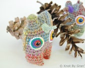 Unicorn Mini Pocket Monster Stuffed Doll Monty - knotbygranma