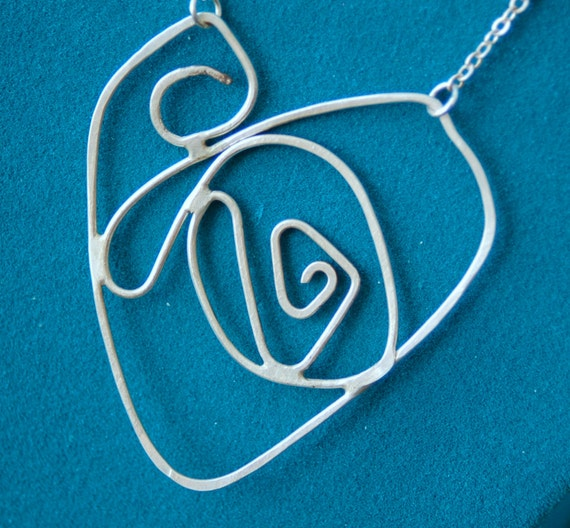 Sterling Heart Necklace