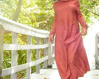 The Gaia Organic Maxi Dress. Sustainable organic hemp custom made clothing by Grateful Threads Asheville. Handmade. Conscious. Bohemian.