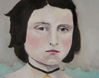 The Captain's Daughter - Original Oil Painting