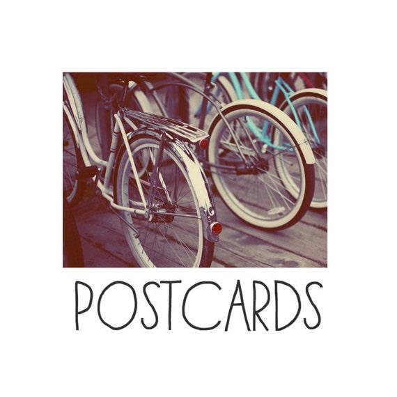 Postcards - Single Card - Blank Cards - Revolution - Bike - Bicycle Photograph - Wheels - Summer