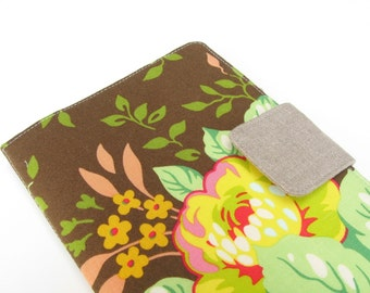 Nook Simple Touch Cover Kindle Fire Cover iPad Mini Cover Kobo Cover Case Heather Bailey Pop Garden Floral Flowered eReader
