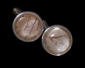 Antique Letter Cuff Links