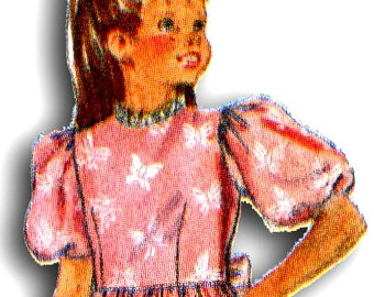 BUTTERICK 4405 Little Girl's Dress Size 4-5-6