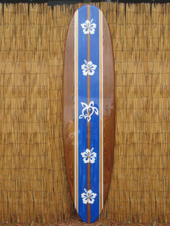 Wooden Decorative Surfboard Wall Art for home hotel