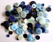 BLUE buttons x100g