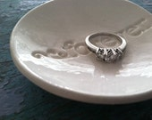 Engagement Ring Holder Ring Dish Engagement Gift Wedding Gift Forever Design