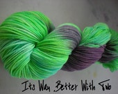 SALE It's Way Better With Two - 400yds Superwash Sock