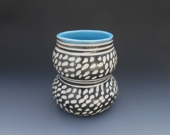 SALE Modern Porcelain Cup Vase