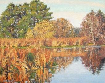 Landscape Painting in Oil Impressionist Plien Air by Andrew Daniel artofandrewdaniel