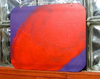 Chalk Board, Blackboard, Red and Purple