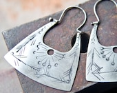 Order for Penelope - Sterling Silver Earrings - Hippie Earrings - Silver Boho Earrings - Handcrafted Jewelry - Medium Size
