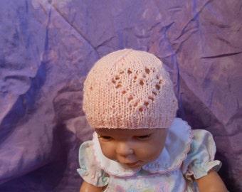 Heart Lace Hat Pattern