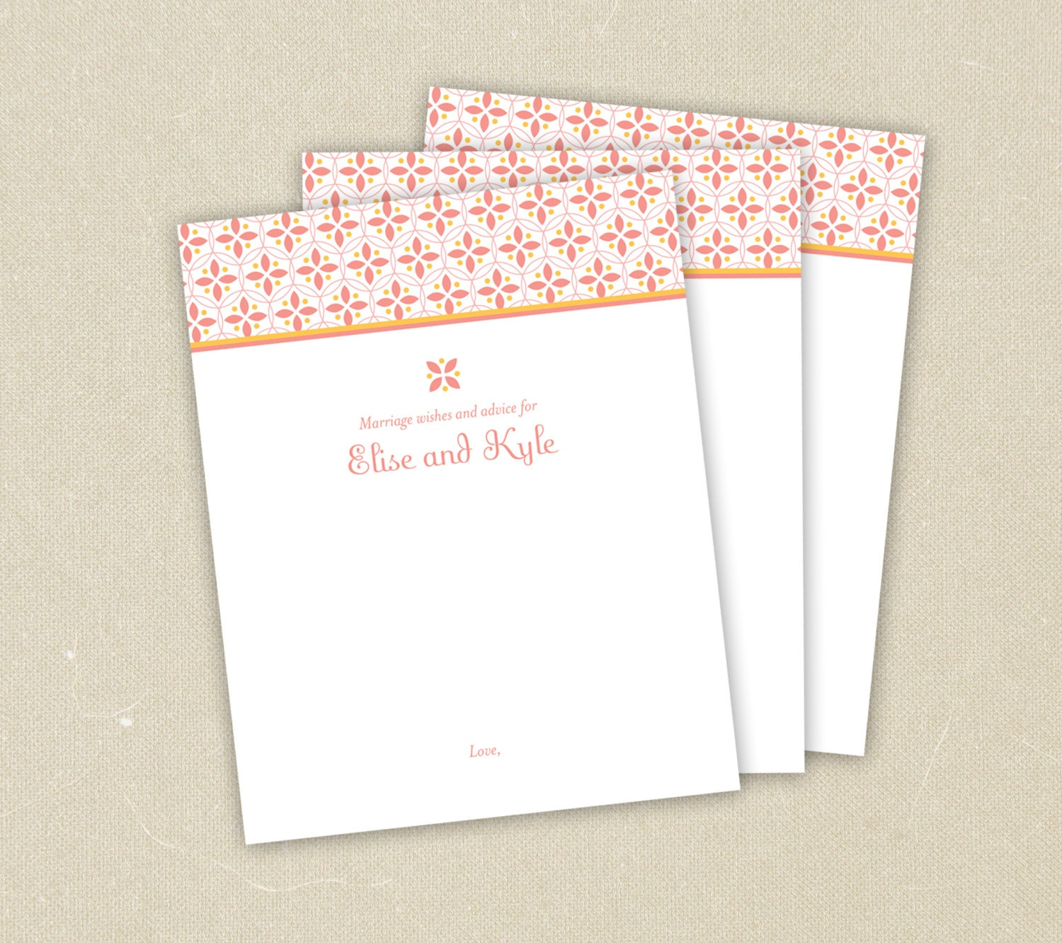 marriage wishes and advice cards for bridal shower summery