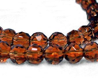 Amber Gold -Czech crystals