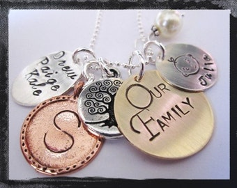 Mother's Day Necklace - Personalized Jewelry - MY PERFECT FAMILY