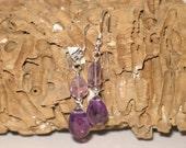Amethyst & Sterling Earrings