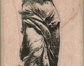 Nike Statue    rubber stamps place cards gifts cling stamp, wood mounted or  unmounted  number 18974 Valentine's